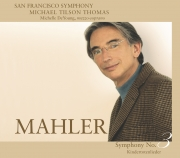San Francisco Symphony Mahler No. 3 Cover Image