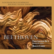 San Francisco Symphony - Beethoven Piano Concerto No. 3 - Cover Image